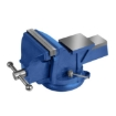 """Picture of 5"""" Heavy Duty Table Bench Vice Workbench Anvil Swivel Base Grip Clamp 125mm   Free Delivery"""