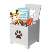 Picture of Pet Toy Box Storage Container Organiser Cabinet Indoor Dog Cat Climbing | Free Delivery