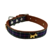 Picture of Highland Blue Tartan Dog Collar Size Medium | Free Delivery