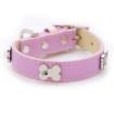 Picture of Pink Bones Bling Dog Collar Size Small   Free Delivery