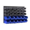 Picture of 30 Tool Storage Bins Tool box Wall Mounted Organiser Parts Garage Workshop Boxes   Free Delivery