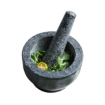 Picture of Solid Stone Food Preparation Unpolished Granite Spice Herb Grinder Kitchen Tools   Free Delivery