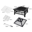 Picture of 3IN1 Fire Pit BBQ Grill Pits Outdoor Patio Garden Heater Fireplace BBQS Grills | Free Delivery