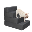 Picture of PaWz Pet Stairs 4 Step Ramp Portable Adjustable Climbing Ladder Soft Washable   Free Delivery