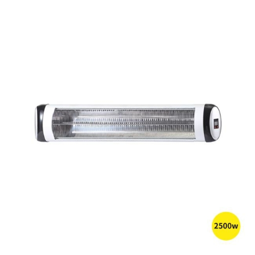 Picture of Spector 2500W Electric Infrared Patio Heater Radiant Strip Indoor Remote   Free Delivery