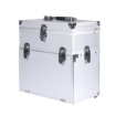 Picture of Portable Makeup Case Cosmetic Organiser Box Beauty Travel Suitcase 5 in 1 Silver   Free Delivery
