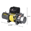 Picture of 5443kgs Electric Winch Wireless Control 12V with Synthetic Rope | Free Delivery