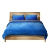 Picture of Luxury Bedding Two-Sided Quilt Cover with Pillowcase Super King Size Navy Blue   Free Delivery