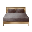 Picture of Bedding Set Ultrasoft Fitted Bed Sheet with Pillowcases Mink Queen | Free Delivery