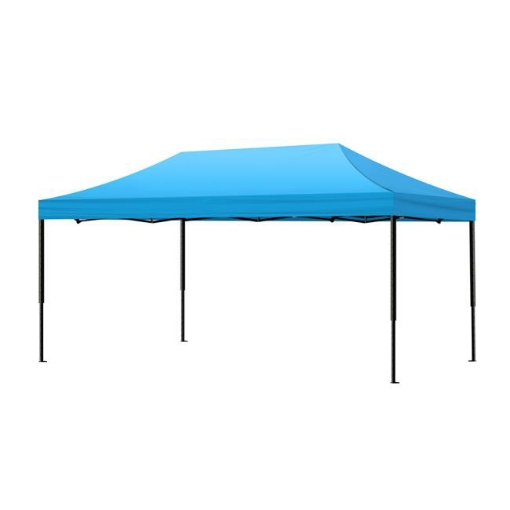 Picture of Mountview Gazebo Tent 3x6 Outdoor Marquee Gazebos Camping Canopy Wedding Blue | Free Delivery