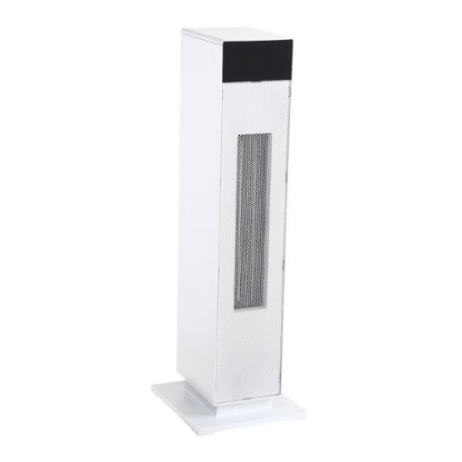 Picture of Spector 2000W Tower Heater Electric Portable Ceramic Oscillating Remote White   Free Delivery
