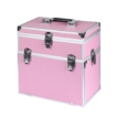 Picture of Portable Makeup Case Cosmetic Organiser Box Beauty Travel Suitcase 5 in 1  Pink   Free Delivery