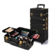 Picture of Makeup Case Professional Makeup Organiser 7 in 1 Trolley Black Gold | Free Delivery
