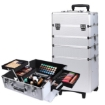 Picture of Makeup Case Professional Makeup Organiser 7 in 1 Trolley Silver   Free Delivery