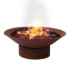Picture of 2 IN 1 Steel Fire Pit Firepit Pits Bowl Garden Outdoor Patio Fireplace Heater   Free Delivery