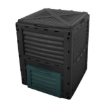 Picture of 290L Compost Bin Food Waste Recycling Composter Kitchen Garden Composting Black   Free Delivery