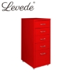 Picture of Levede Filing Cabinet Files Storage Cabinets Steel Rack Home Office 5 Drawer | Free Delivery