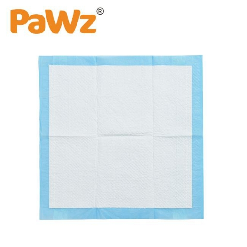 Picture of PaWz New 200pcs 60x60cm Puppy Pet Dog Indoor Cat Toilet Training Pads Absorbent   Free Delivery