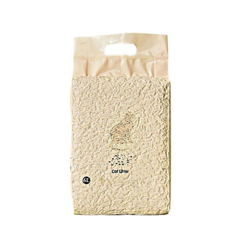 Picture of PaWz Tofu Cat Litter 6L Edible Crystals Flushable Sand Biodegradable Mint X8 | Free Delivery