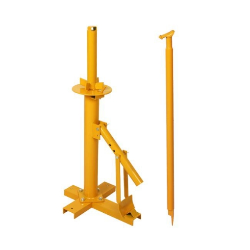 """Picture of Portable Manual Tyre Changer Bead Breaker Car 4WD Van Motorcycle 8""""-18"""" Yellow 