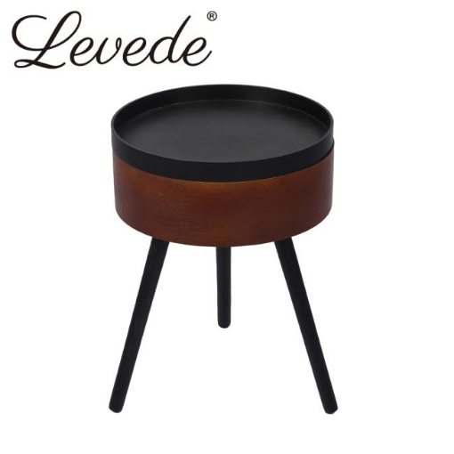 Picture of Levede Coffee Side End Tables Antique Storage Modern Bedside Table Plant Stand   Free Delivery