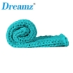 Picture of Dreamz Knitted Weighted Blanket Chunky Bulky Knit Throw Blanket 3KG Blue Green   Free Delivery