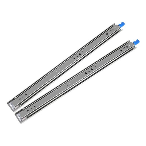 Picture of 150KG Drawer Slides 900MM Full Extension Soft Close Locking Ball Bearing Pair   Free Delivery