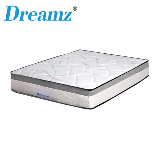 Picture of Dreamz Mattress Double Size Bed Top Pocket Spring Medium Firm Premium Foam 25CM | Free Delivery