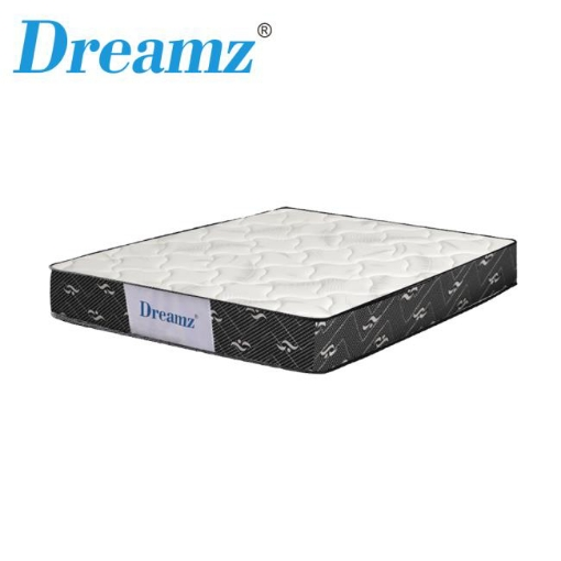 Picture of Dreamz Bedding Mattress Queen Size Premium Bed Top Spring Foam Medium Soft 16CM | Free Delivery