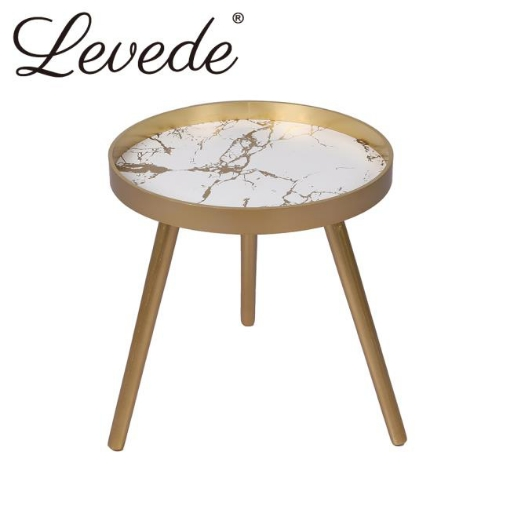 Picture of Levede Side End Table Sofa Coffee Table Storage Bedside Table Plant Stand Wooden | Free Delivery