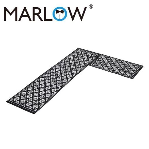 Picture of Marlow 2x Kitchen Mat Floor Rugs Area Carpet Non-Slip Door Mat 45x120cm /45x75cm   Free Delivery