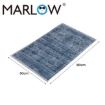 Picture of Marlow Floor Mat Rugs Shaggy Rug Large Area Carpet Bedroom Living Room 50x80cm   Free Delivery