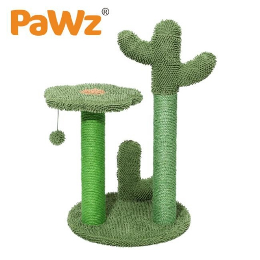 Picture of PaWz Cat Tree Scratching Post Scratcher Furniture Condo Tower House Trees L | Free Delivery