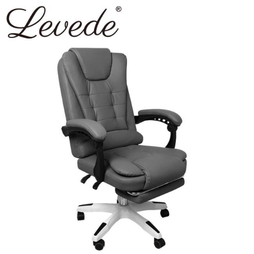 Picture of Levede Gaming Chair Office Computer Seat Racing PU Leather Executive Footrest | Free Delivery