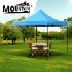 Picture of Mountview Gazebo Tent 3x3 Outdoor Marquee Gazebos Camping Canopy Wedding Blue   Free Delivery